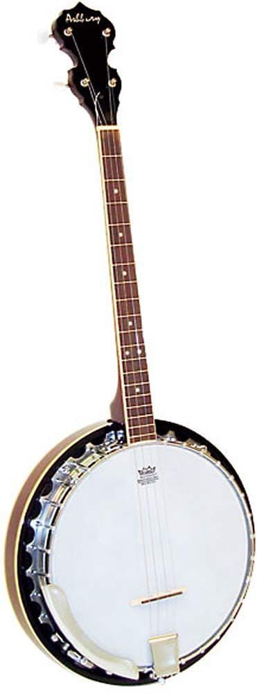 Ashbury GR38021 Tenor Banjo-19 fret, mahogany, resonator.
