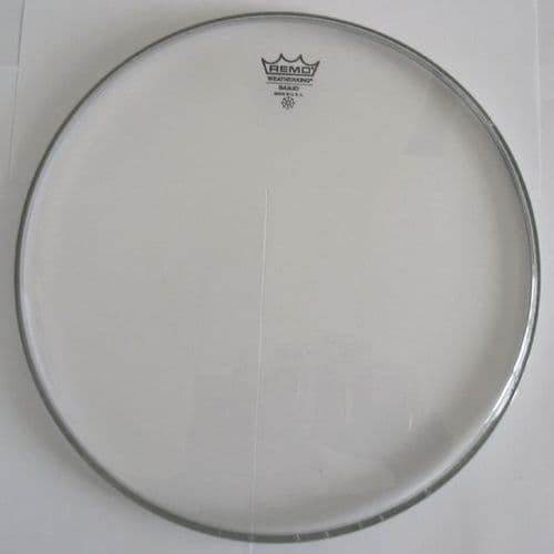 Banjo Heads Remo Weatherking Clear