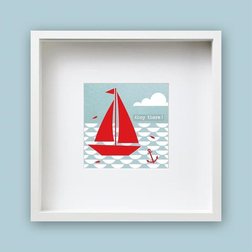 Ahoy There - Framed Print