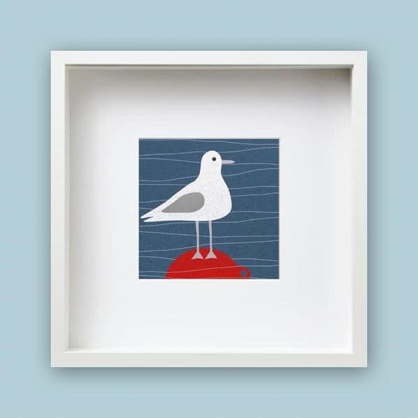 Bobbing About Framed Print | Jo Thearle