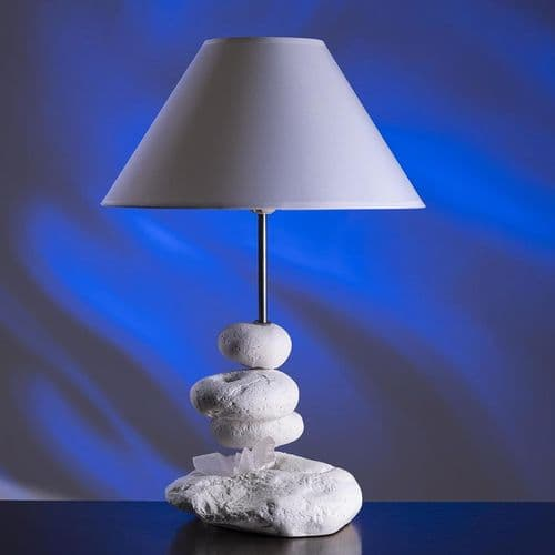 Coastal Pebble Lamp - Rock Pool