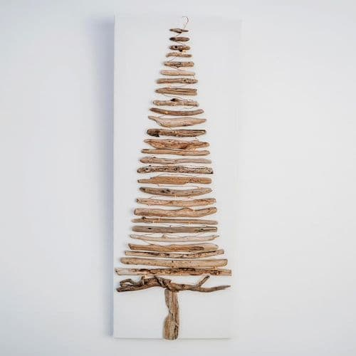 Driftwood Tree on Canvas