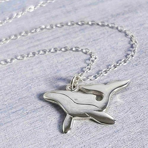 Humpback Whale Pendant Necklace