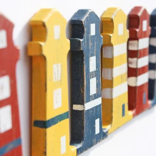 Lighthouse Shaped Wooden Magnet