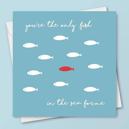 Only Fish in the Sea – Coastal Card