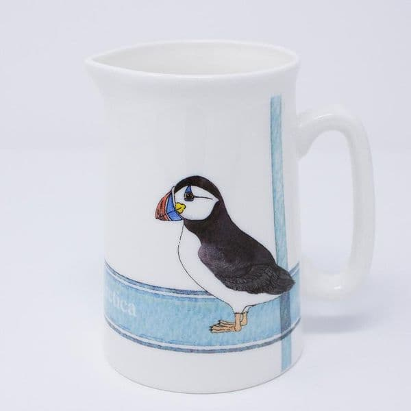 Puffin Jug | Fine Bone China | Iona Buchanan