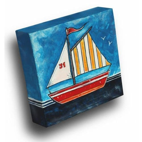 Red Boat - painting