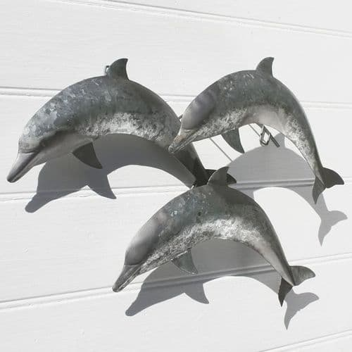 Three Leaping Dolphins - Wall Hanging