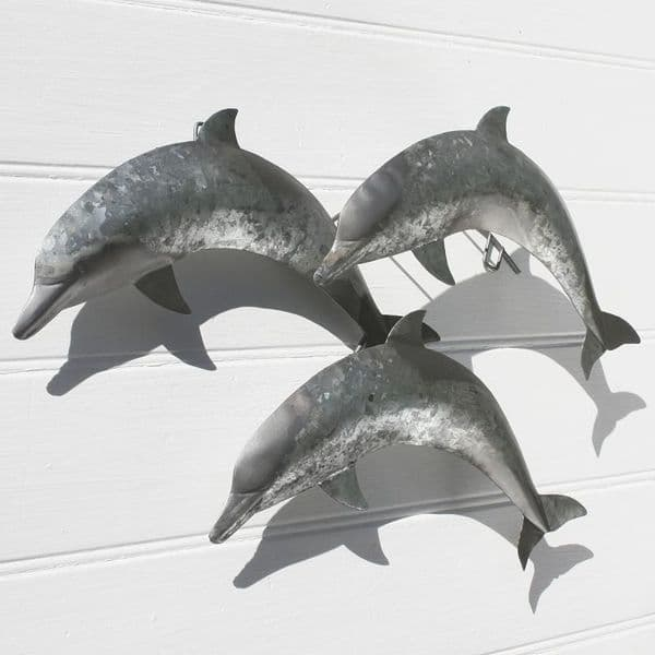 Three Leaping Dolphins | Wall Hanging