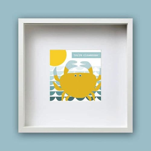 You're Clawesome - Framed Print
