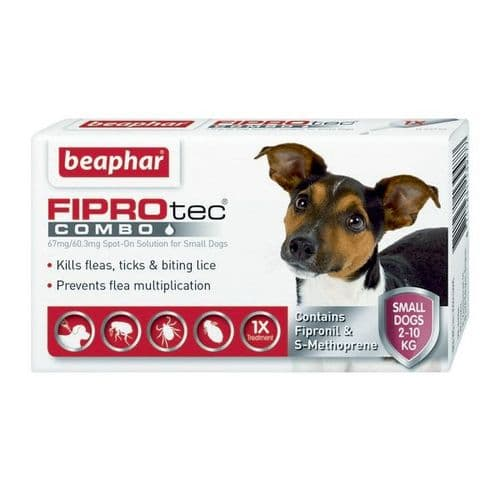 Beaphar Fiprotec Combo Small Dog (1Pipette)