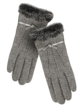 1. PIA ROSSINI JEMMA GLOVE - GREY