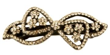 1.GC101120 silver sequined hair clip