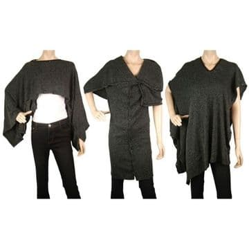 BS410 unique designer creation multi-purpose wear - one design can be worn in different styles