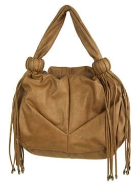 Melissa J soft synthetic leather shoulder bag