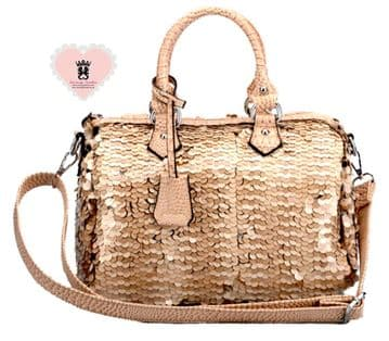 Millan 7120 Sparkling Embroidered Bag - Khaki
