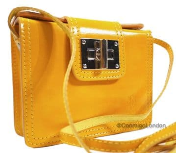 Real Italian Leather - Brealleather 0045 - Yellow