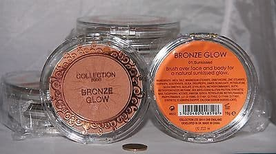 12 x Collection Bronze Glow | Sunkissed | RRP £50 | Large Powders