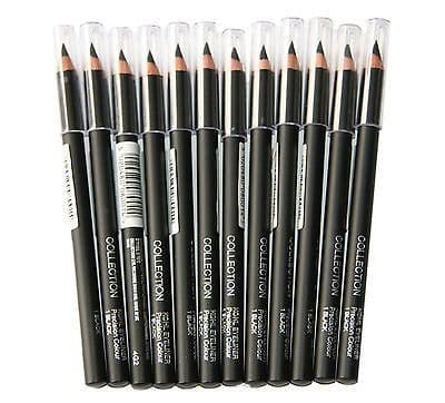 12 x Collection Khol Eyeliner Pencils | Black | Precision Colour | Wholesale