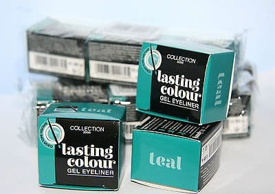 12 x collection Lasting Colour Gel eyeliner | Teal | RRP £60 | Wholesale Lot