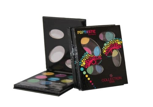 12 x Collection Poptastic Eye Palette Eyeshadow sets | wholesale | Job Lot