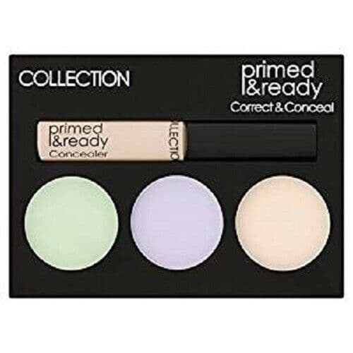 12 x COLLECTION Primed & Ready | Correct & Conceal Palette | Ultimate Coverage |