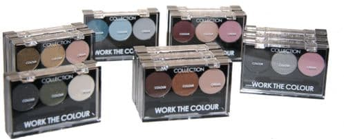 12 x Collection Work The Colour Eyeshadow | Mixed shades | RRP £38