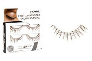 12 x Royal Natural Look Eyelashes | Style 118