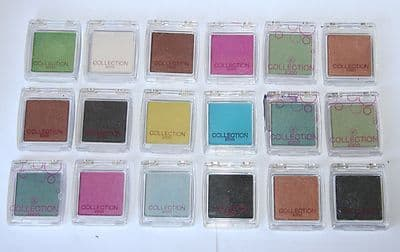 18 x Collection 2000 Colour Intense Solo Eyeshadow | Assorted Shades | RRP £45