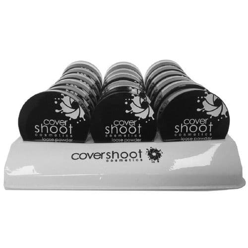 18 x Cover Shoot Loose Powder | On Display  |