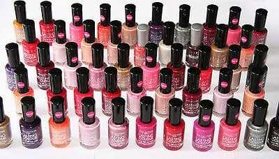 50 x Collection 2000 Lasting Colour Nail Polish | RRP £150+ |  Wholesale