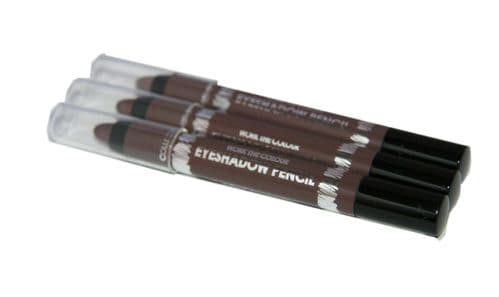 6 x Collection Work the Colour Eyeshadow Pencils | Hot Chocolate | RRP £20 |