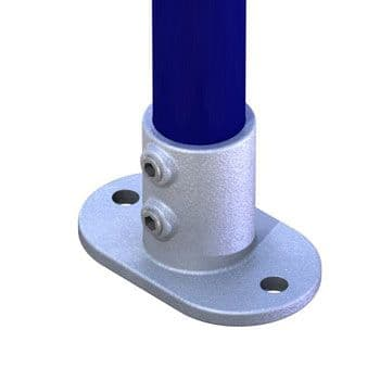 T13200 - Pipeclamp Railing Base Flange