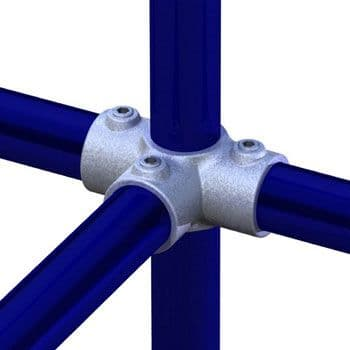 T17600 - Pipeclamp Side Outlet Tee
