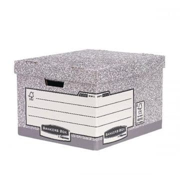 Bankers Box Heavy Duty Standard Storage Box<br>Size: 333x390x285mm<br>Pack of 10
