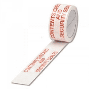 CONTENTS CHECKED Tape Polypropylene 50x66m / Pack of 6