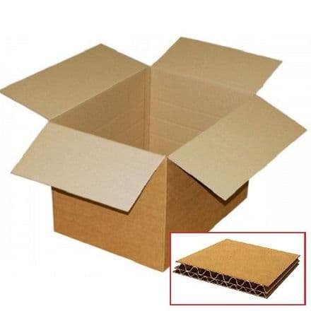 Double Wall Cardboard Box 305x305x305mm / Pack of 15