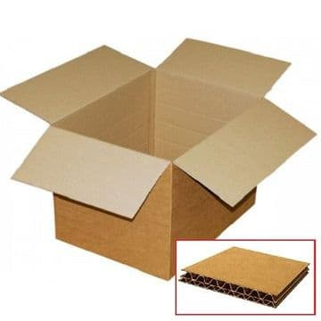 Double Wall Cardboard Box 457x457x457mm / Pack of 15