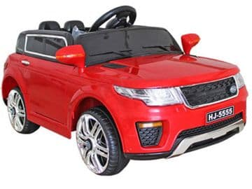 12v Range Rover Style Red Jeep Junior Ride On Electric Toy Car With Remote Control