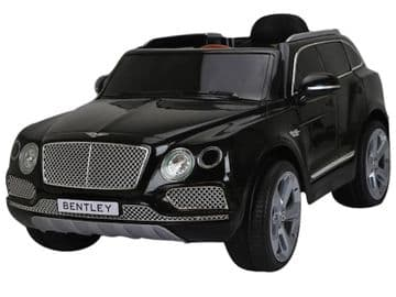 Bentley Bentayga SUV Black 12v Electric Ride on Car Official Licensed Model