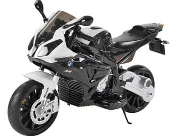 BMW S1000RR Motorcycle Black Licensed 12v electric Ride On Bike With Stabilisers