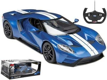Ford GT Mk II Radio Control 1:14 Scale Official RC Model Toy Super Car Blue