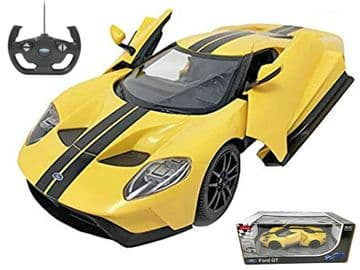 Ford GT Mk II Radio Control 1:14 Scale Official RC Model Toy Super Car Yellow