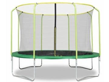 Fun Jump II 12ft x 2.4M Trampoline with enclosure safety net steel frame UV jump mat