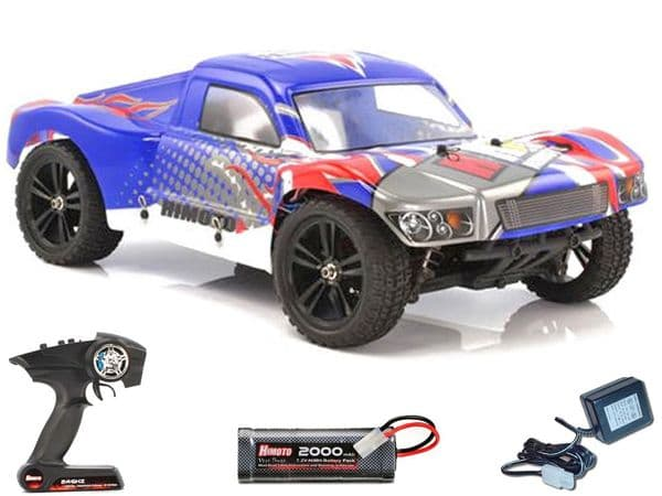 Himoto Spatha 1-10 4WD Radio Control Short Course Truck Brushed RTR E10SC 2.4ghz