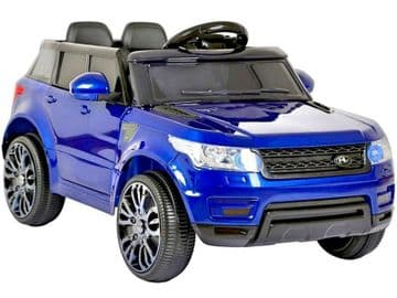 Junior Range Rover HSE Style Ride on Jeep 12v electric with Parental Radio Control Blue