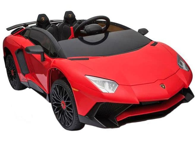 Lamborghini Aventador SV Red | Kids Ride On Toy Car 12v Electric | TOY&MODEL