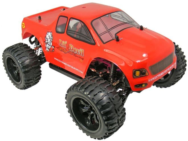 TOYANDMODELSTORE: Remote Control Monster Truck 1-10 Scale 7.2v 4WD Off Road RC Model