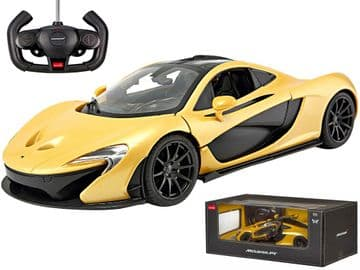 McLaren P1 Radio Control 1:14 Scale Official RC Model Toy Super Car Yellow