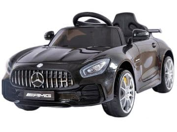 Mercedes Benz AMG GT R Official 12v Electric Ride on Car Black with Remote Control